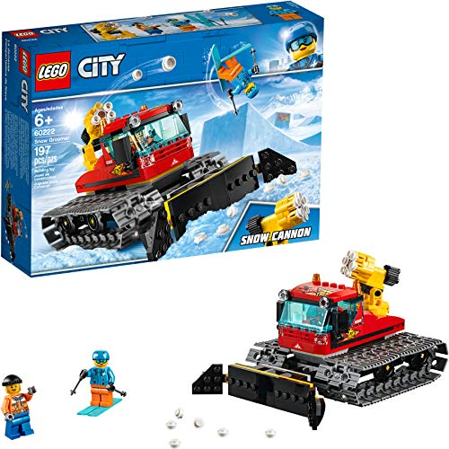 LEGO City Great Vehicles Snow Groomer 60222 Building Kit, 2019 (197 Pieces)