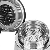 Cafetera, olla Moka, artículos para el hogar de acero inoxidable para el hogar, cocina, suministros de cocina