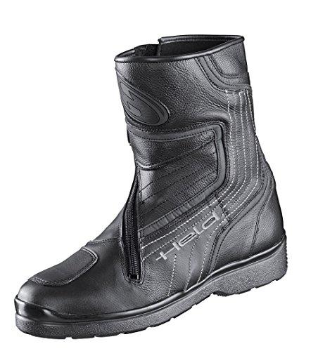 Held Corte kurzer Motorradstiefel, Farbe schwarz, Größe 42