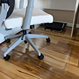 Office Chair Mat, 48'×36'-2mm Thick, Chair Mat for Hardwood Floor, Desk Chair Mat, Floor Protectors for Office Chairs, Office Mat, Office Mats for Rolling Chairs, Only for Hardwood Floor