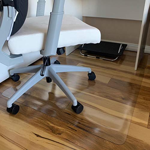 "Office Chair Mat, 47""×35""-2mm Thick, Chair Mat for Hardwood Floor, Desk Chair Mat, Floor Protectors for Office Chairs, Office Mat, Office Mats for Rolling Chairs"