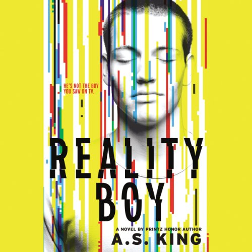 Reality Boy audiobook cover art
