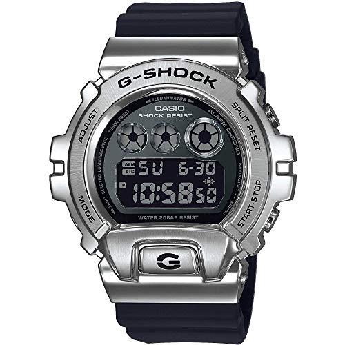 Casio G-SHOCK Multifunktionsuhr, aus Metall GM-6900-1ER