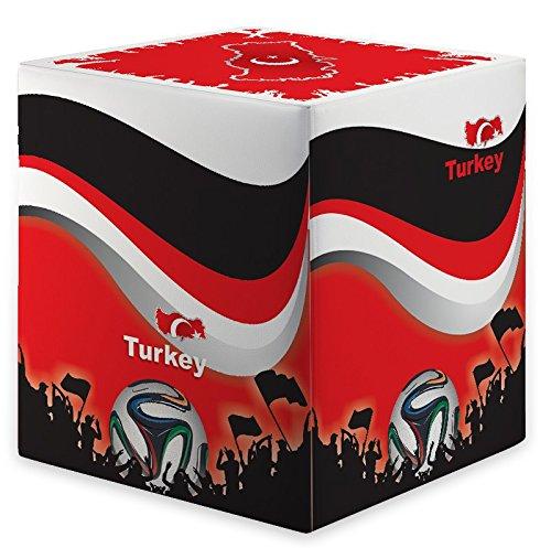 Kaikoon Pouf Cube WM Turquie Turkey Dimensions : 35 cm X 35 cm x 42 cm