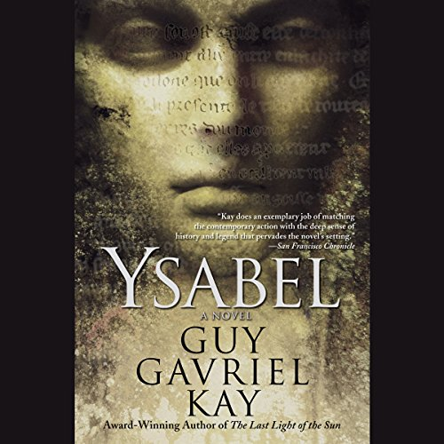 Ysabel  audiobook cover art