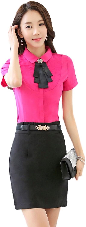 Oncefirst Ladies' Vintage Short Sleeve Shirt
