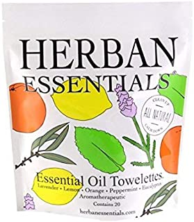 Herban Essentials Assorted Bag (20 towelettes)