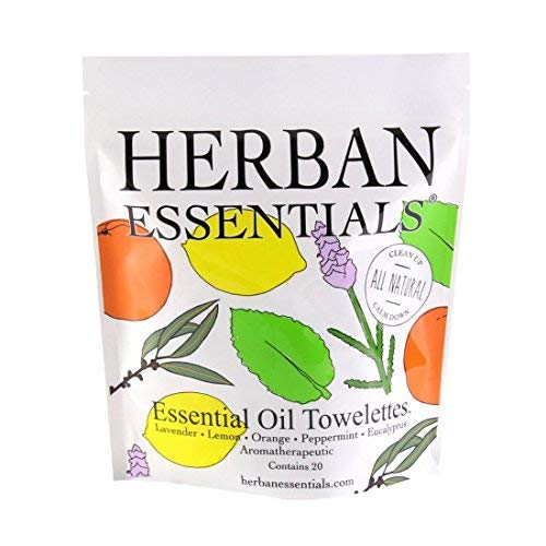 Herban Essentials Assorted Bag (20 towelettes)