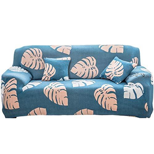 GladiolusA 1-Stück Elastische Sofahusse Sofabezug Stretch Couch Husse Sofaüberwurf Sesselbezug Stil 11 1 Sitzer für Sofalänge 90-140cm
