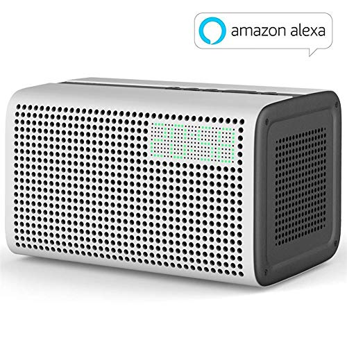 Inteligente Altavoz WiFi y Bluetooth Speaker, Amazon Alexa Voice Control Smart Speaker for Airplay Spotify Multiroom Play, Snocoo Altavoz 20W Sonido Estéreo for iOS y Android