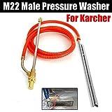 Kit de sablage pour Karcher série M22, nettoyeur haute pression, sable, sablage et...