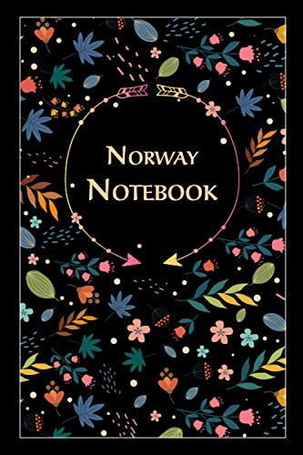 Norway Notebook: Gift for Norway Citizens Travellers and Lovers, 100 Timeline Pages of High Quality, 6'x9', Premium Matte Finish