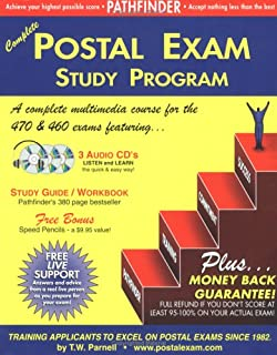 Complete Postal Exam 460 Study Program: 3 Audio CDs, 380 page Training Guide, Speed Pencils, Free Live Support & Guaranteed Score of 95-100%