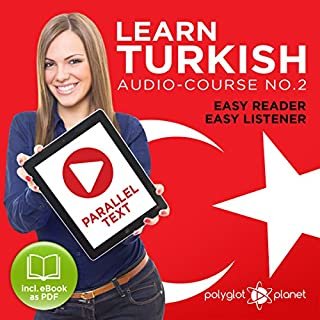 Couverture de Learn Turkish - Easy Reader - Easy Listener Parallel Text Audio Course No. 2