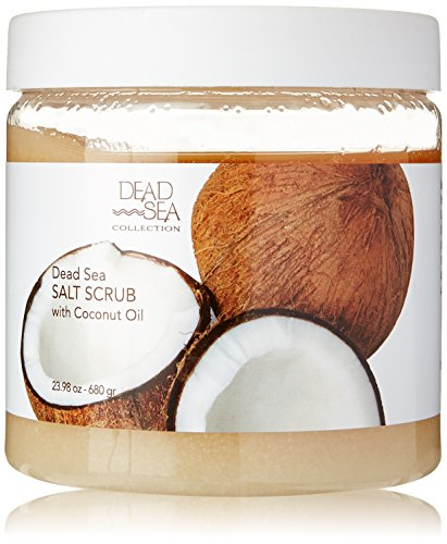 Dead Sea Salt Scrub & Coconut Oil 23.28 OZ