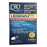 TK Supplements Legendz XL Male Enhancement - Promotes Stamina, Confidence and Sex Drive - Works with the First Use - Made in the USA