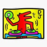 Yoyoloco Pop Talking 1988 Heads Art Dog Keith Abstract Dj
