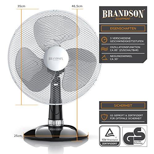 Brandson – Tischventilator 30cm | Tisch Bild 3*