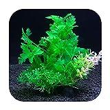シミュレーション人工植物水族館の装飾水雑草観賞植物水槽水族館草14Cm装飾-A8-14cm