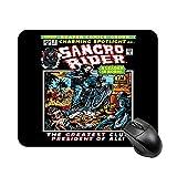 Samcro Rider Sons of Anarchy Comics Book Alfombrilla de mesa de juego antideslizante de alta velocidad, Alfombrilla de ratón cuadrada de oficina con base de goma, Alfombrilla de escritorio pequeña per