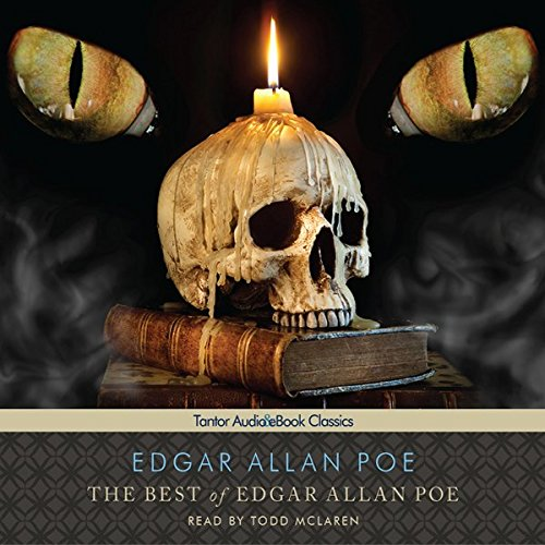 The Best of Edgar Allan Poe                   By:                                                                                                                                 Edgar Allan Poe                               Narrated by:                                                                                                                                 Todd McLaren                      Length: 5 hrs and 34 mins     2 ratings     Overall 4.0