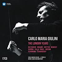 Carlo Maria Giulini - The London Years by Armstrong