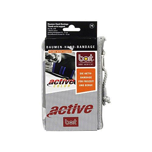 bort 1470 medium schwarz ActiveColor Daumen-Hand-Bandage für rechts und links gleich, medium, schwarz