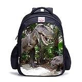 Mochila de dinosaurio para el parque jurásico, bolsa para el almuerzo, bolsa de hombro, C1-11, M,