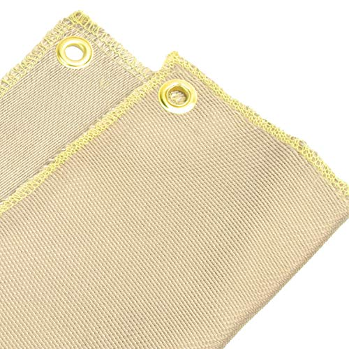 12 inches x 12 inches Heat Shield Welding Pad, Soldering Torch Flame Protector, High Temp Heat Resistant Cloth Fiberglass Mat