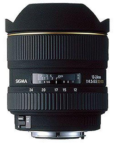 Sigma 12-24mm F4,5-5,6 EX DG Objektiv (Gelatinefilter) für Minolta / Sony D