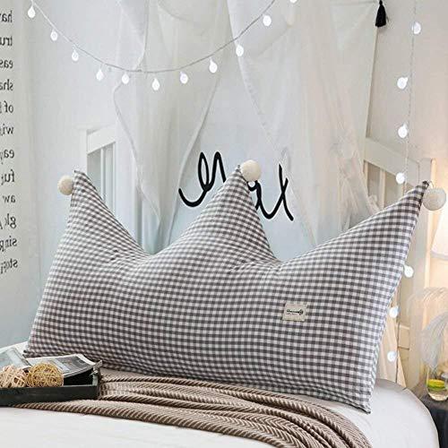 Kopfbrett Nachtrückenpolster Kinderbett Crown Rückenlehne Einzeldoppelbett Taille Pads Princess Nacht Soft Bag, Baumwolle Herausnehmbare waschbare, 9 Farben, 3 Größen (Farbe: 5, Größe: 180 x 80cm), Gr