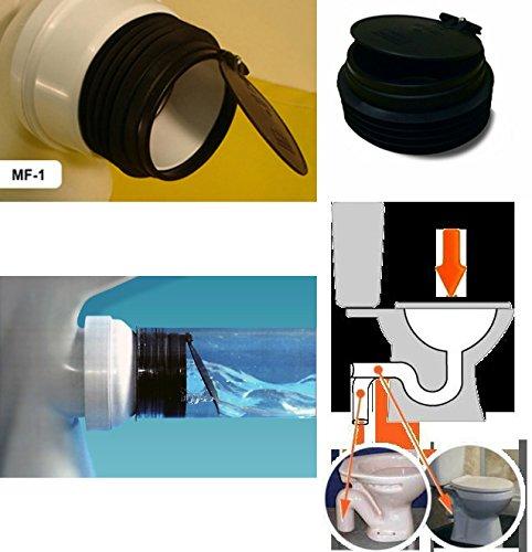 multiflap ARB1MF1anti cross-flow y roedores Válvula de barrera para inodoro de salida