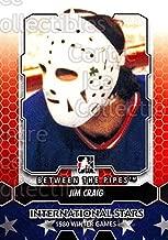 (CI) Jim Craig Hockey Card 2012-13 Between The Pipes (base) 194 Jim Craig