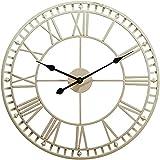Wdszb Reloj de Pared para jardín al Aire Libre Grande Resistente...