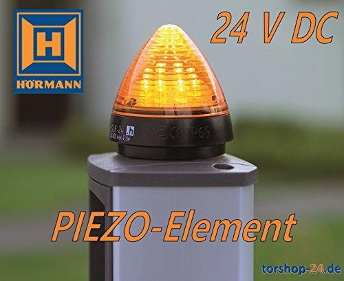LED-Signalleuchte SLK gelb 24 V DC mit Piezo-Element