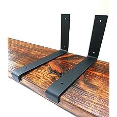 """Shelving Iron shelf bracket ONE Decorative Metal Support Bracket 6/""""x7/"""" Shelf bracket Metal shelf bracket Floating shelf"""