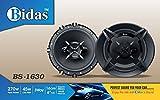 Bidas BS-1630 6 inch 270w 3Way Coaxial Car Speaker (270 W)