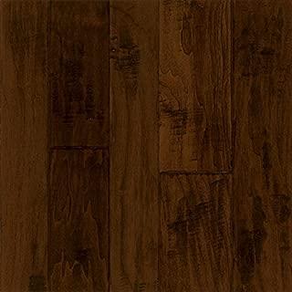 Armstrong Flooring EMW6322 Hand-Scraped Hardwood, Black Chocolate