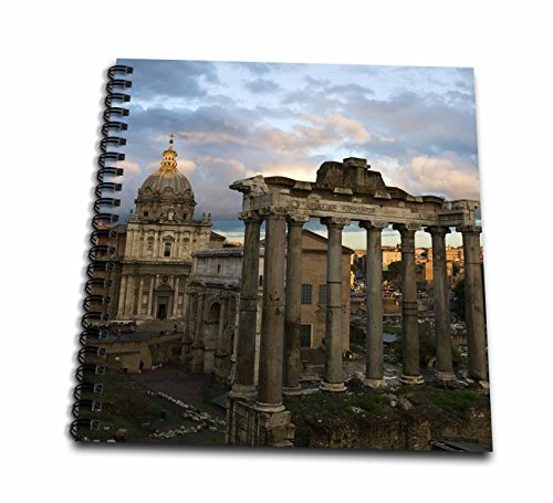 3dRose DB_82106_1 Forum, Rom, Italien, EU16 dbn0183 David Barnes Zeichnungsheft, 20,3 x 20,3 cm