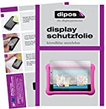 dipos I 2X Schutzfolie klar kompatibel mit Amazon Fire 7 Kids Edition (2017) Folie Bildschirmschutzfolie