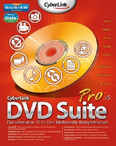 CyberLink DVD Suite 5 Pro Vista