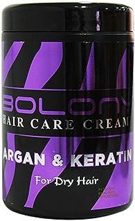 BOLONY HAIR CREAM 1000ML, ARGAN & KERATIN