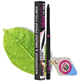 Best Cruelty Free Waterproof Eyeliner Pencil with Sharpener - All Day...