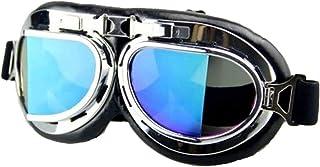 نظارات ريترو، نظارات الدراجات النارية كروزر سكوتر MTB على الجليد مقاومة للرياح