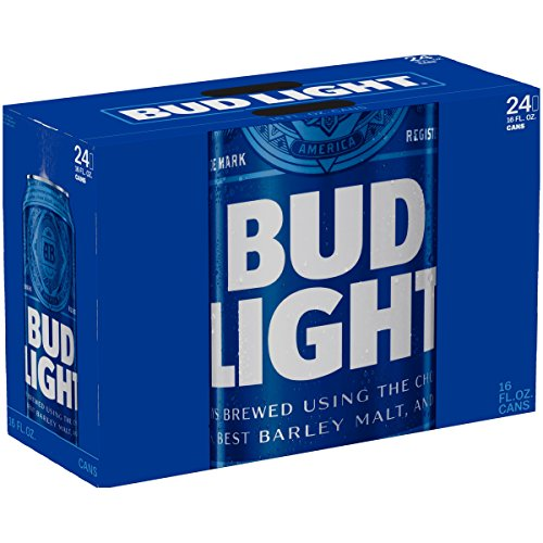 Bud Light 16oz (473mL aluminum bottle) - 24 Pack