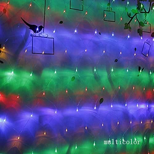 GFSDDS kerstlichtsnoer, LED, voor lichtketting, decoratie buiten, voor bruiloften in de kerstboom, veelkleurig, 220 V, 4 x 6 m, 750 LEDs