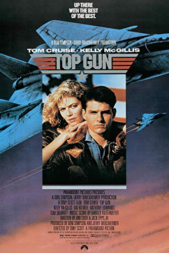 Top Gun - Movie Poster (Regular Style) (Size: 24 x 36 inches)