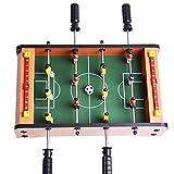 Mini Futbolín de Mesa de Madera MDF Durable Juegos 36.5cm x 21.5cm x 9cm Regalos de...
