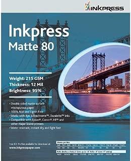 Inkpress PP80121250 Commercial Duo Matte Inkjet Paper 80 New Stock 12in. X 12in. 50 Sheets