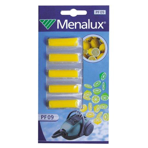Menalux PF09 Accessoires pour Aspirateurs Senteur Citron 1 Blister de 5 Bâtonnets